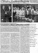 Zeitungsbericht zur Überreichung der BVM an Nikolaus Saam