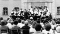 1. Chorserenade auf Schloß Thurn 1980 mit der Eintracht
