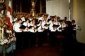 75 Jahre Cäcilia 1984 - Teilnahme der Eintracht am Kirchenkonzert