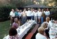 Nachfeier 50. Geburtstag Erich Thomas im eigenen Garten