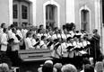 Chorserenade auf Schloß Thurn am 04.07.1993