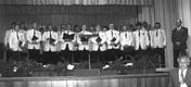 Landkreissingen in den Jahnhalle am 10.10.1993
