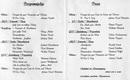 Programm vom Liederabend 1993