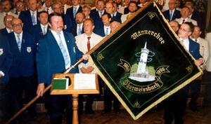 Fahnenweihe MC Oberweißbach 1996