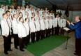Die Eintracht beim Festkommers in Poppendorf 15.05.1998