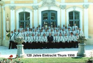 120 Jahre MGV Eintracht Thurn 1998