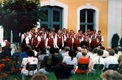 Chorserenade 11.07.1999 mit Auftritt Eintracht