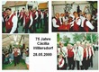 75 Jahre Cäcilia Willersdorf am 28.05.2000