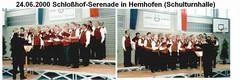 Schloßhofserenade in Hemhofen am 24.06.2000