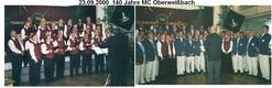 140 Jahr MCOberweißbach am 23.09.2000