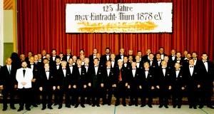 125 Jahre Eintracht Thurn - Chorfoto
