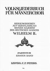 Klick um zum Inhalt des Volksliederbuches für Männerchor zu gelangen.